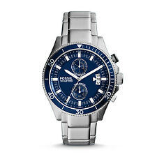 FOSSIL WAKEFIELD CHRONOGRAPH STAINLESS STEEL WATCH MAN CH2937