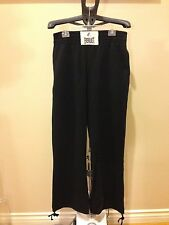 Authentic Agnes b. Paris X EVERLAST Black French Black Sweatpants Size S Limited