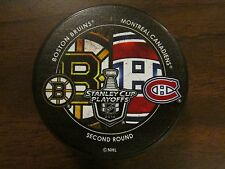 2014 Stanley Cup Playoffs Dueling Puck Boston Bruins / Montreal Canadiens