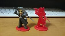 Final Fantasy SEPHIROTH  Coca Cola mini Figure color&crystal set used japan