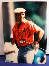 Larry Nelson Signed 5 x 7 Color Photo with COA