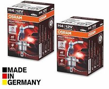 2x NEW H4 OSRAM NIGHT BREAKER LASER +130% 12V 60/55W TOP 64193NBL