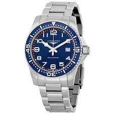 Longines HydroConquest Blue Dial Stainless Steel Mens Watch L36894036