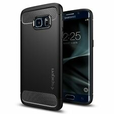 Spigen Galaxy S7 Edge Case Rugged Armor Black