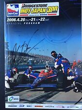 Signed by Helio Castroneves when Danica Patrick wins the 2008 Japan 300