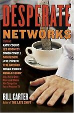 Desperate Networks : Starring Katie Couric Les Moonves Simon Cowell Da-ExLibrary