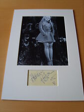 Carry On Adrienne Posta Genuine Autograph - UACC / AFTAL.