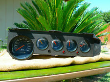 1972-1974 Dodge Challenger Plymouth Barracuda Cuda instrument cluster with Clock