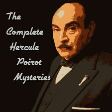 Hercule Poirot Mysteries Complete Collection 41 Stories - ON MP3 DVD ALL TAGGED