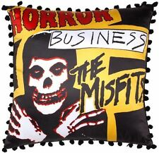 Sourpuss Misfits Horror Business Pillow Punk Rock Music Skull Skeleton NEW Yello