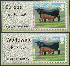 WINCOR CATTLE TYPE II FS47b + FS50b EUR & WW to 60g RATES MATCHED PAIR POST & GO