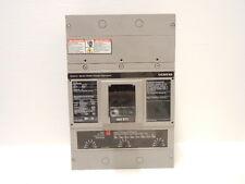 SIEMENS JXD63L400 USED 400A 3 POLE SENTRON SERIES MOTOR INTERRUPTOR JXD63L400