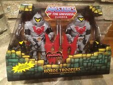 Masters of the Universe Classics HORDE TROOPERS w/ Mailer MOTUC