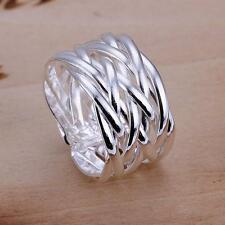 Wholesale women's Fashion jewelry 925 sterling silver filled Ring gift