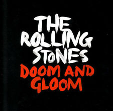 """The Rolling Stones Doom and Gloom 10"""" Vinyl RSD 2012 Only 1,500 Made"""