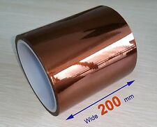 High Temperature Heat Resistant Kapton Tape 200mm X 100ft Reprap 3D Printers BGA