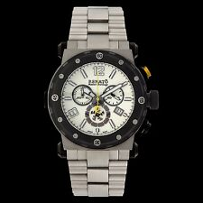 Renato Master Horologe Men's DE.A Destructor Swiss Made Ronda 5040.D Watch