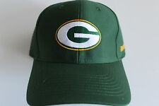 Green Bay Packers NFL Football  Cap Kappe One Size Team Apparel Klett Velcro