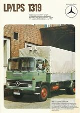 MERCEDES BENZ LP/LPS 1319 BROCHURE.