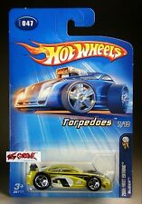 Hot Wheels 2005 #047 Slider™ LITE GREEN,5SP,METAL BASE,'05 LONG CARD