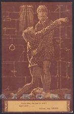 EZIO ANICHINI INFERNO DIVINA COMMEDIA Divine Comedy DANTE DANTESCA Cartolina 23b