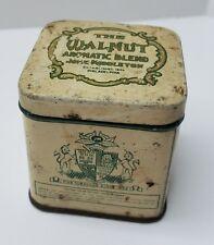 Vintage John Middleton Walnut Tobacco Tin Philadelphia