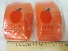 "1510 Original Apple Bag Baggies Ziplock 200 Pink Color Pouch 1.5"" x 1"" NEW"