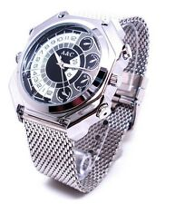 Voice Activated 12MP HD 1080P Waterproof Spy Watch Camera DVR Mini DV 16GB A9