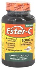 American Health Ester C with Citrus Bioflavonoids 1000 mg - 90 Tablets VITAMIN C