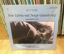 "SERGE GAINSBOURG & JANE BIRKIN LP "" Je T'aime - Beautiful Love "" MERCURY"