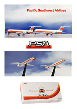 Jet X JX013 Pacific Southwest Airlines Set of 2 DC-9 Airplanes 1/400 Scale w GSE