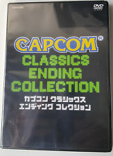 CAPCOM CLASSICS ENDING COLLECTION DVD Video Japan Import Nuovo NEW Sealed
