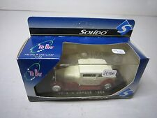 AD486 SOLIDO 1/43 VOISIN CARENE 1934 EDITION LIMITEE METAL TODAY TRES BON ETAT