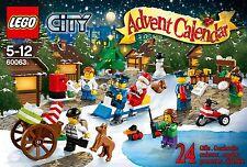 LEGO CITY 60063 Calendrier de l'avent Advent Calendar  ++ 100% NEUF ++ NEW