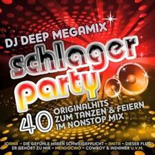 DJ Deep Megamix Schlagerparty (2013) Neu & Eingeschweißt