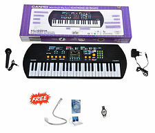 KTG HL-100FM Electronic Musical Keyboard,Radio,Mic With Freebies