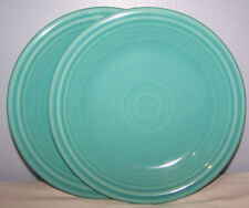 NEW FIESTAWARE SET OF 2 TURQUOISE SALAD PLATES FIESTA