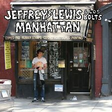 JEFFREY & LOS BOLTS LEWIS - MANHATTAN  CD NEU