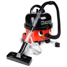 Casdon Numatic Henry Hoover Vacuum Cleaner Red Boys Carpet Plug Hose Suction Toy