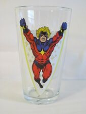 Captain Marvel 'TOON TUMBLER 16 oz.Pint Glass