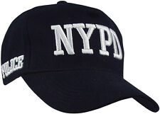 Navy Blue NYPD Police Official Deluxe Low Profile Baseball Hat Adjustable Cap