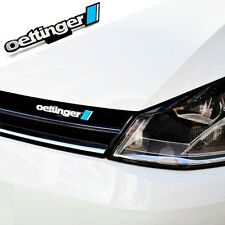 OETTINGER Badge Grille & Rear Logo 3M For VW GOLF GTI  GT POLO JETTA CC SCIROCCO