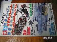 1µ?a Revue Tamiya Model Magazine n°41 M4 Sherman Imperial Speeder Bike 911 GT2