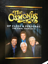 JAY OSMOND - CHART TOPPING SINGER - THE OSMONDS - SIGNED CONCERT FLYER