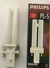 NEW PHILIPS PL-S FLUORESCENT LIGHT BULB   5 W
