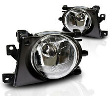 2001-2003 For BMW E39 FRONT BUMPER REPLACEMENT CLEAR FOG LIGHTS LAMPS PAIR SET