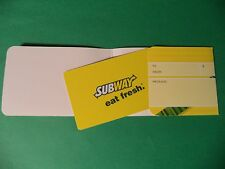 Subway $ 25.00 Gift Card