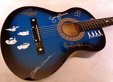 THE BEATLES Limited Editon Tribute Acoustic Guitar (blue) - NEW!