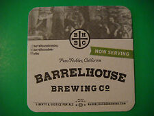 Beer COASTER ~*~ BARRELHOUSE Brewing ~ Paso Robles, CALIFORNIA ~ Justice for Ale