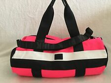 VICTORIA SECRET PINK TOTE / DUFFLE BAG GYM BAG, TRAVEL CARRY ON, PINK MULTI NWT